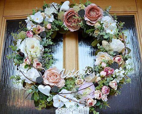 8d983fe5b Romantický veniec na dvere / mARTin.dekordielna - SAShE.sk - Handmade  Dekorácie