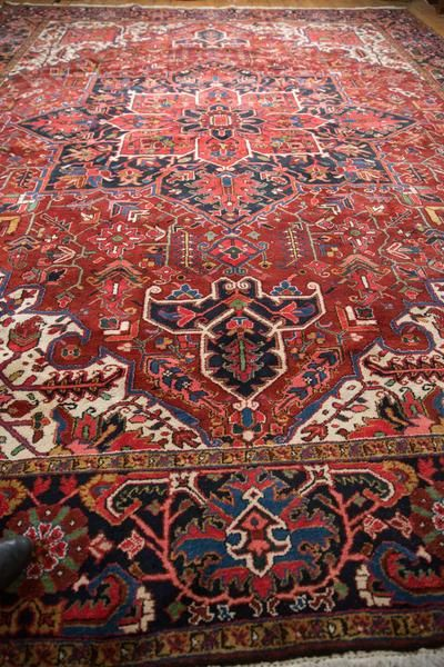 11x14 5 Vintage Ahar Carpet Old New House In 2020 Bohemian Carpets Carpet Persian Carpet