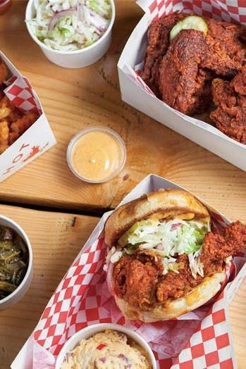 7 Places To Indulge In L A X2019 S Delish New Wave Of Fried Chicken Purewow Food Restaurants Fried Chicken Food Soul Food