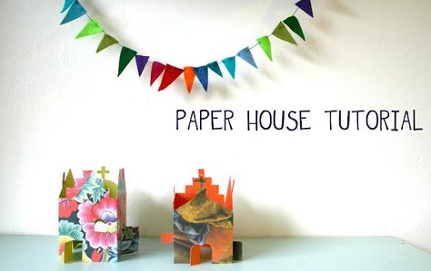 Paper house tutorial
