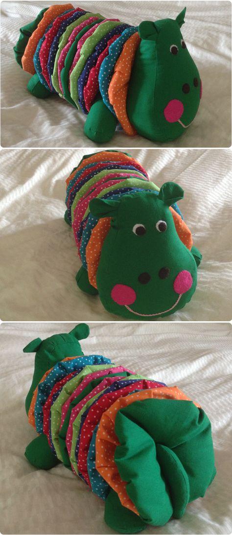 Kids Caterpillar Toy Free sewing patterns