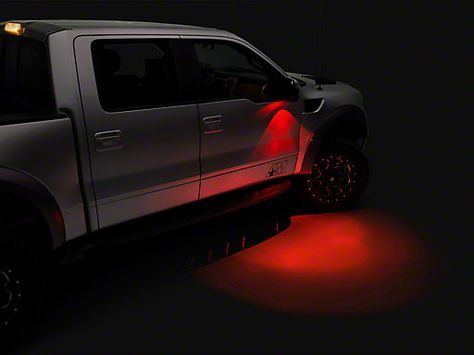 Recon Ultra High Power Led F 150 Mirror Puddle Light Kit 264242wh 09 14 All Free Shipping Led Mirror Power Led Led