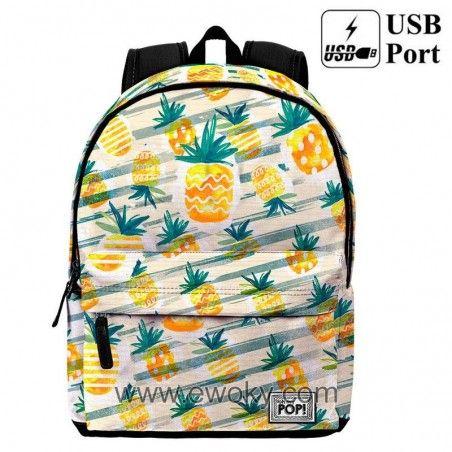 Https Www Ewoky Com Es 70114 Mochila Ananas Oh My Pop 42cm Oh My