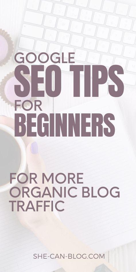 Google SEO Tips for beginners