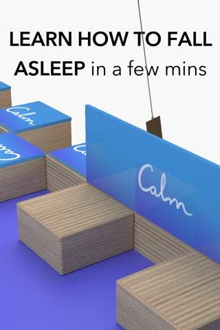 Live your most well-rested life with the Calm app. Choose from hundreds of Sleep Stories, guided meditations and soothing music tracks, designed to help you relax and sleep.