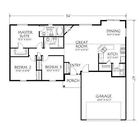 Best One Story House Plans Single Storey House Plans By Single Story House Plans One Story Hous Single Level House Plans One Storey House House Plans Farmhouse