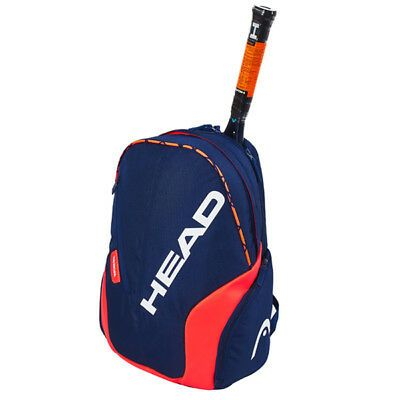 Ad Ebay Head Radical Backpack Tennis Badminton Blue Orange Racquet Racket Nwt 283339 Badminton Tennis Bag Backpack Brands