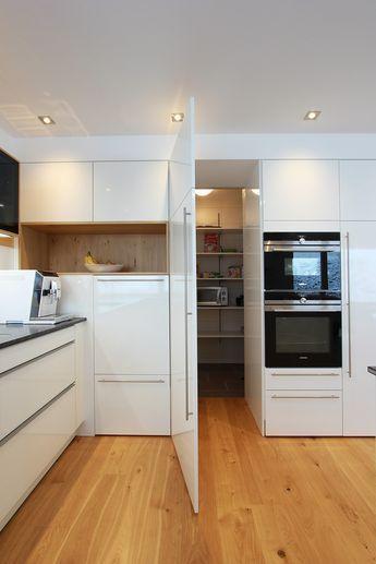 Die besten 25+ Blockhaus küche Ideen auf Pinterest Blockhaus - offene kuche wohnzimmer ideen