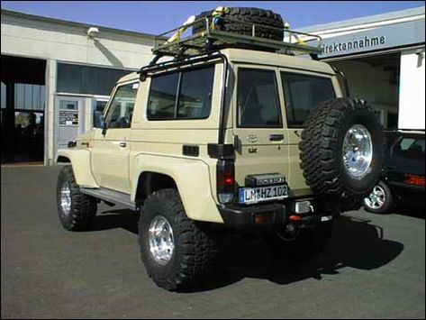 Roof Rack Cage For Bj73 Ih8mud Forum Land Cruiser Toyota Land Cruiser Land Cruiser 70 Series