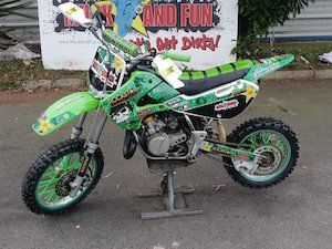 Mint Kawasaki Kx 65 X2 Plus 3 X Ktm 65 Delivery For Sale In Wicklow On Donedeal Enduro Motorbikes Ktm Dirtbikes