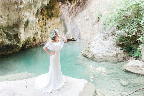 Inspiring Greek Mythology styled shoot in Lefkada with blooms of olives - Chic  Stylish Weddings