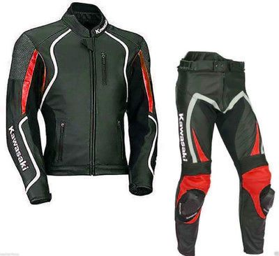 Men/'s Red /& Black BMW Motorcycle Leather Jacket Made to Order