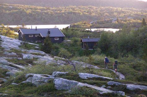 Eriksbu, Blefjell. Een van mijn eerste berghutten, toen ik in Aas studeerde. Zomer 2014 driedaagse tocht met de kinderen.