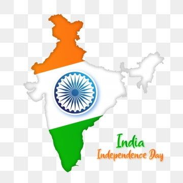Independence Day India Flag On Map With Ashoka Illustration India Flag Independence Day India Independence Day Images Download