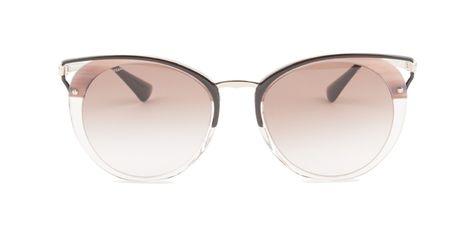 d03c80595e25 Prada - PR66TS Beige Gold - Brown sunglasses