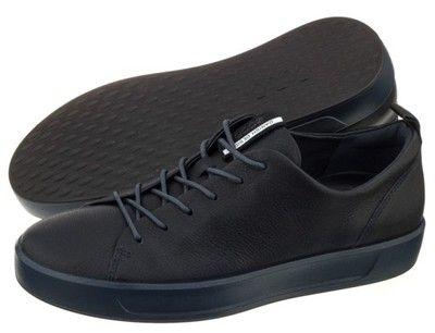 Buty Meskie Polbuty Ecco Soft 8 Mens 440504 Czarne 6909369595 Oficjalne Archiwum Allegro Women Shoes Shoes Mens Fashion
