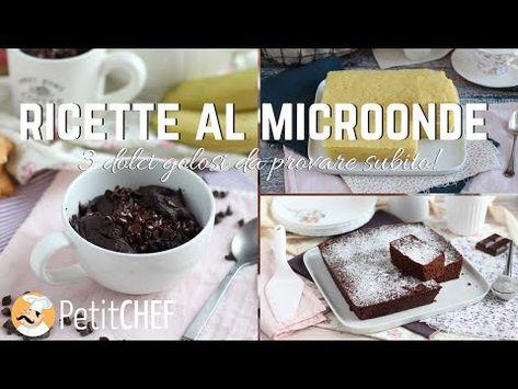 Dolci al microonde: ricette pronte in meno di 15 minuti
