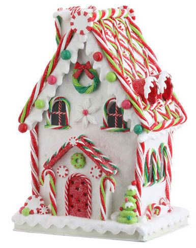 Candy Cane Gingerbread House GINGERBREAD HOUSES Pinterest Fascinating Candy Cane House Decorations