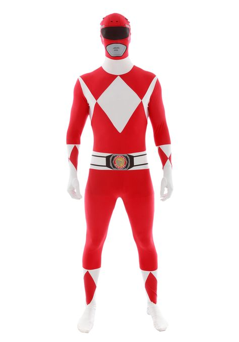 Power Rangers: Red Ranger Morphsuit Costume