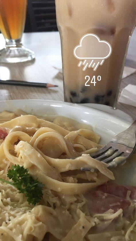 Resep Fettucini Carbonara Oleh Jenny Resep Makanan Sehat Balita Pasta Carbonara Ide Makanan