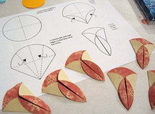 I learned a new thing – teabag folding – Origami Iris Folding, Paper Folding, Origami Folding, Fabric Origami, Origami Paper, Origami Quilt, Fabric Flowers, Paper Flowers, Fabric Crafts