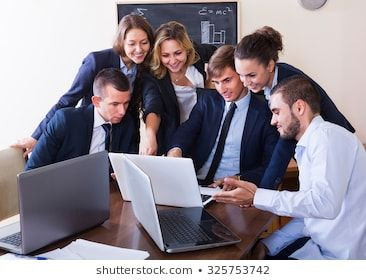 Business Meeting Of Successful Team In Office Interior Photo