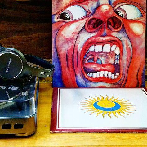 vinyl Tonight's playlist : King...