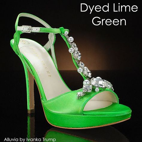 Lime Green Modern Wedding Shoes For Bridesmaid And Other Las In Your Bridal Party Hot Pinterest Parties Weddings