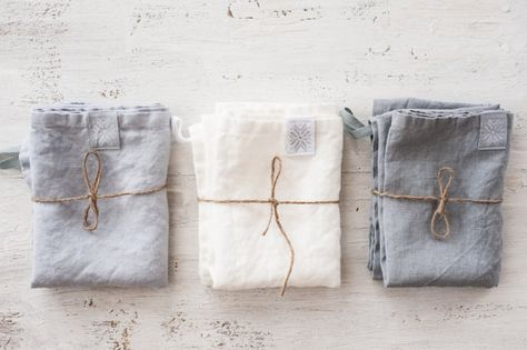 Linen towels FREE SHIPPING. Set of 3 washed by notPERFECTLINEN