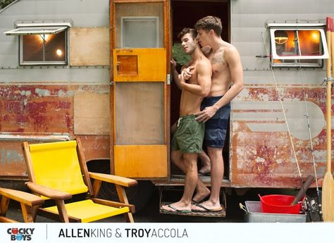 Allen King And Troy Accola