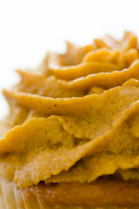Pumpkin Pie Frosting ~ Great for cakes, cupcakes, cookies, etc.