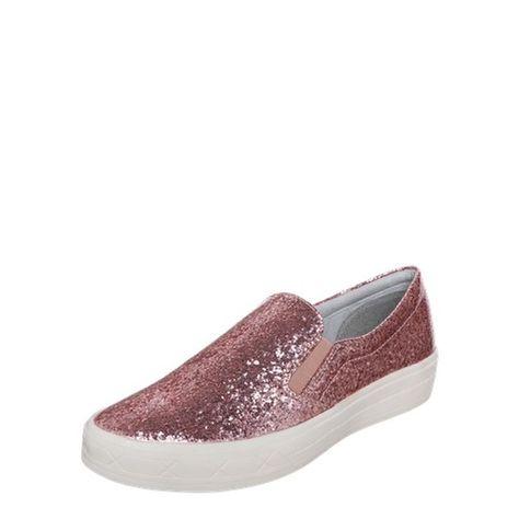 TAMARIS Slipper mit Glitzer pink | Tamaris slipper, Rosa und