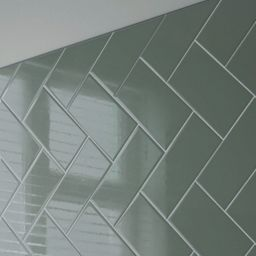 Wickes Co Uk Wickes Chevron Kitchen Ceramic Wall Tiles