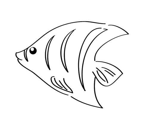 Balik Boyama Sayfasi Hayvan Boyama Sayfasi Animal Coloring Pages Pinterest Fish