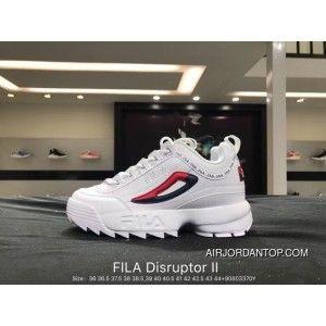 Fila Disruptor II 2 Indented Height Increasing Slender Legs