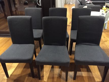 6 Dining Chairs 100 Dining Chairs Gumtree Australia Kingston