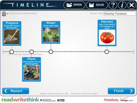 RWT Timeline Social Studies iOS Apps Pinterest Timeline - readwritethink resume generator