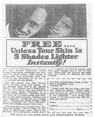 Black Women Faced A Catch 22 With Whitening Creams - All The Times Women Were Shamed For Makeup In History - Photos