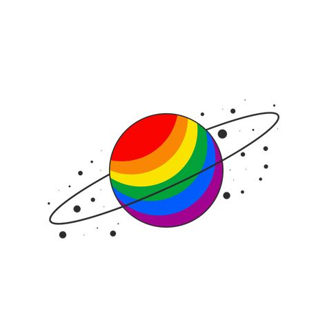 I made some pride planets! You can get them as stickers and mugs here (x) (If you want another flag, just let me know!!!) (second set   third set)