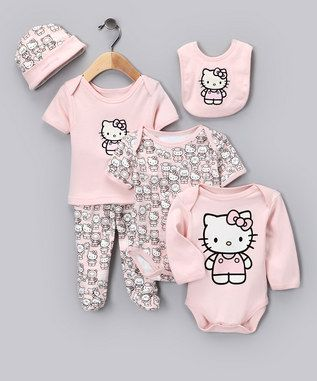 Hello Kitty Baby Clothes...oh my! It's a good thing I had a boy!