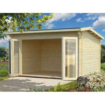 Palmako Holz Gartenhaus Ines B Xt 390 Cm X 300 Cm Kaufen Bei Obi Gartenhaus Gartengebaude Haus