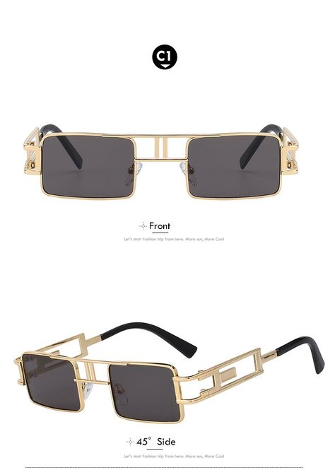 80a158864d3a Xiu Brand Men'S Square Steampunk Sunglasses Women Vintage Uv400 Ce Fda –  FuzWeb