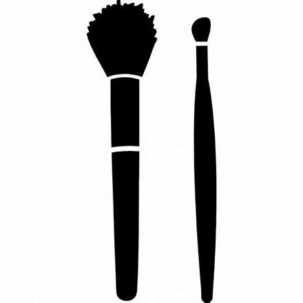 Image Result For Makeup Svg Files Free Makeup Icons Makeup Brushes Makeup Brush Set