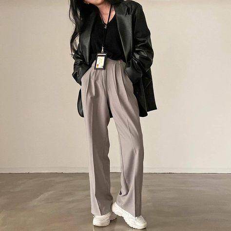 Classic wear idea for woman lookbook 2021 tiktok inspiration autumn korea
