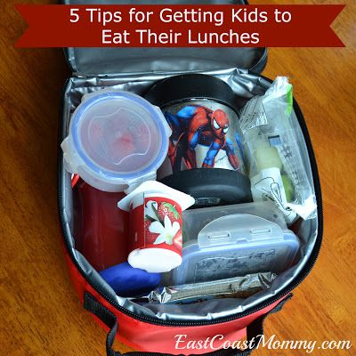 Get your kid to eat their lunch with these 5 tips!