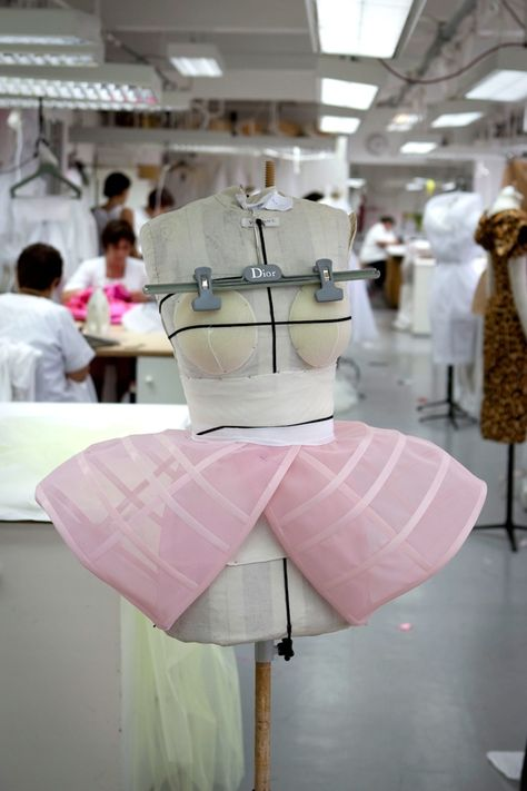 How to make fake breast.hautekills: Inside the atelier for Christian Dior haute couture f/w 2009
