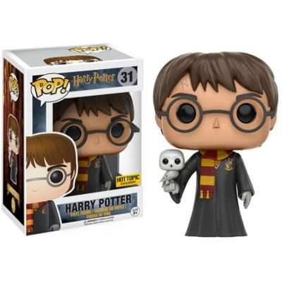 New Funko Pop Harry Potter 31 Harry With Hedwig Hot Topic Exclusive