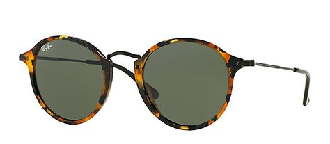 Ray-Ban RB2447 1157 49-21 ROUND FLECK TORTOISE sunglasses   Official Online  Store 29408b213bf7
