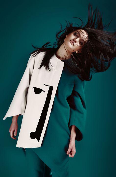 suprematism in Fashion - Ivan Samkov