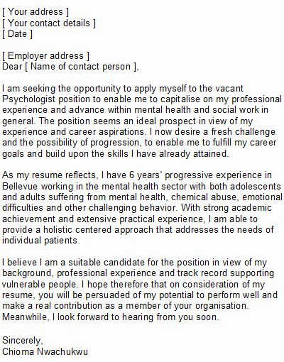 Career Aspiration Sample Letters from i.pinimg.com